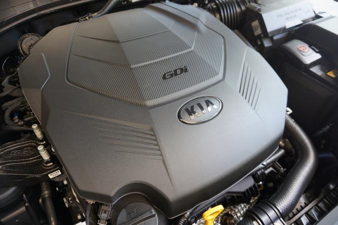 지난 27일 열린 시승행사에 투입된 K7 프리미어의 3.0 엔진. Photoⓒ 인더뉴스 | 박경보 기자