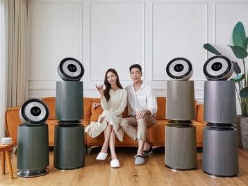 LG전자, '오브제컬렉션 360˚ 공기청정기' 선배...14종으로 라인업 확장