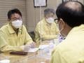 도규상 부위원장, IBK기업은행 지점 방역실태 현장 점검 나서
