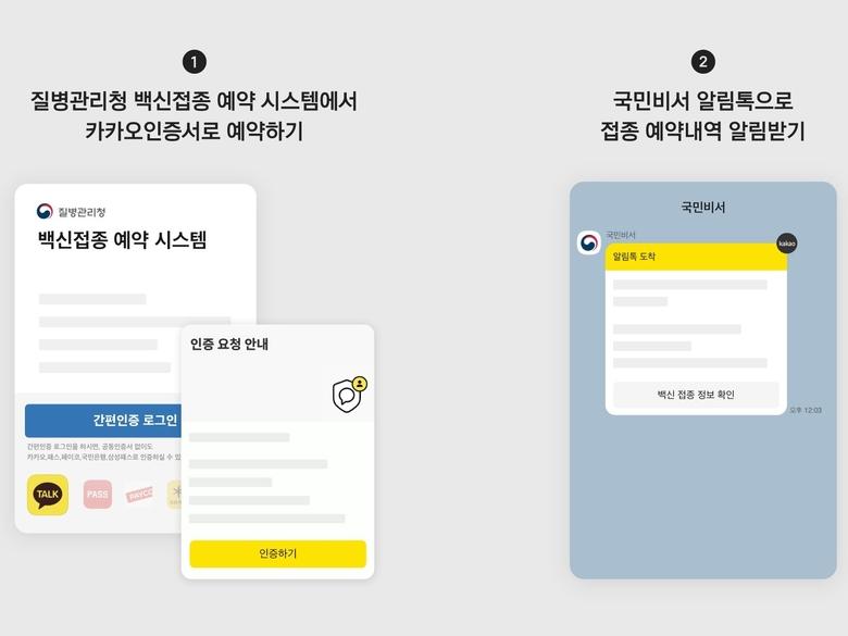 네이버 앱·카카오톡으로 코로나19 백신 접종 예약 가능해진다